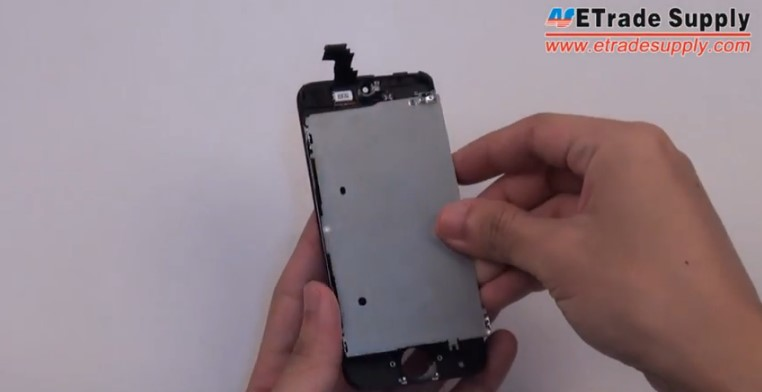 Take the iPhone 5C LCD assembly