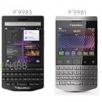 Blackberry P9983 and P9981 comparison