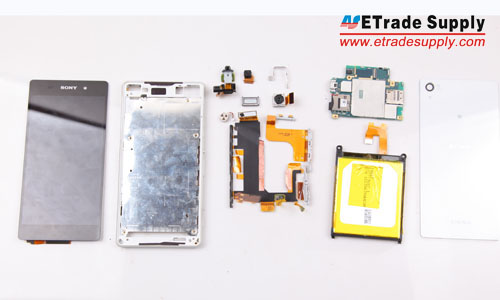 The Sony Xperia Z2 disassembly has been finished