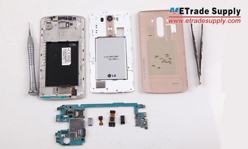 The LG G3 disassembly has been finished