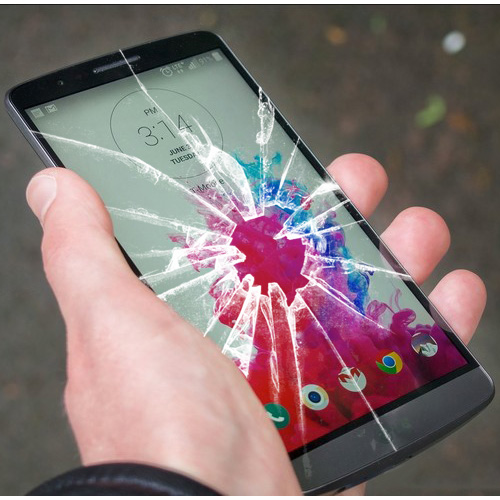 Cracked LG G3 Screen