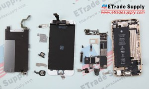 The iPhone 6 disassembly had been finished.