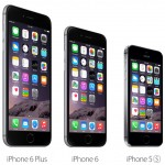 iPhone 6 Plus, iPhone 6 and iPhone 5S comparison