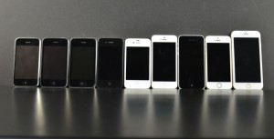 iPhone-6-alongside-the-entire-iPhone-family
