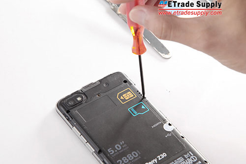 undo screws