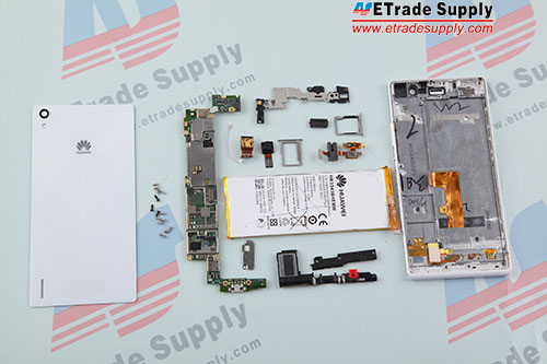 Huawei Ascend P7  teardown-