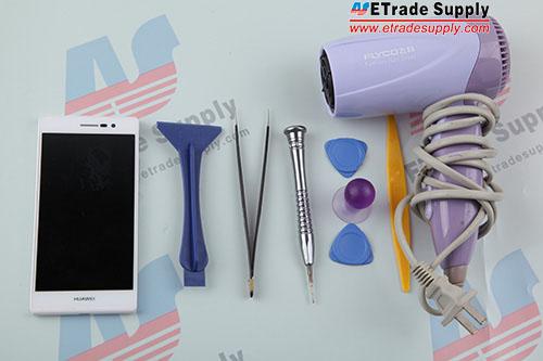 Huawei Ascend P7  teardown