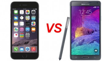 iPhone 6 v.s. Galaxy Note 4