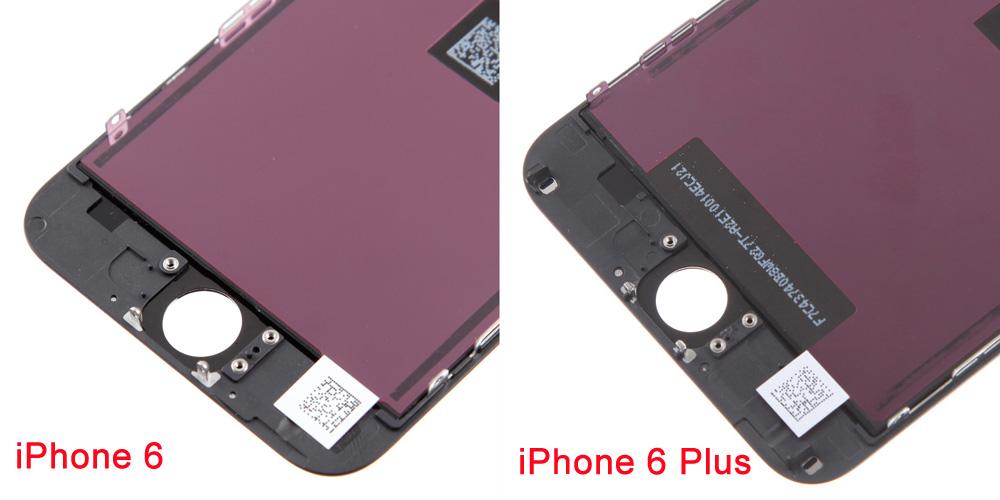 iphone 6, 6 Plus Screen Comparison 5