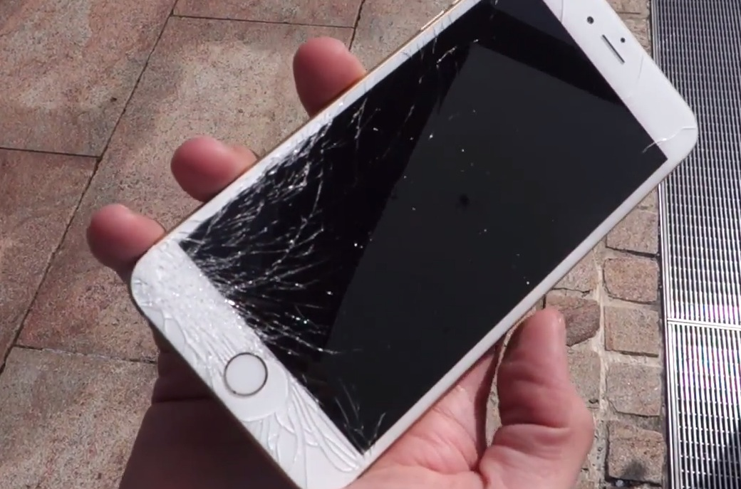 iphone 6 cracked screen cost