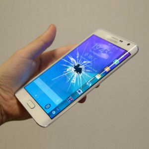 Cracked Galaxy Note Edge