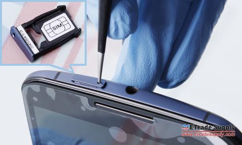 Nexus 6 take out sim card tray