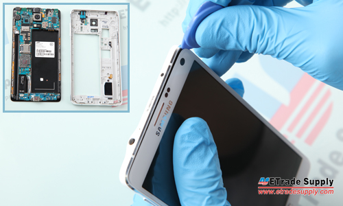 Note 4 LCD Assembly Off