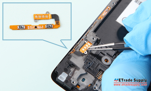 Note 4 Power Button Flex