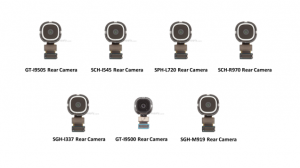 Galaxy S4 rear facing cameras