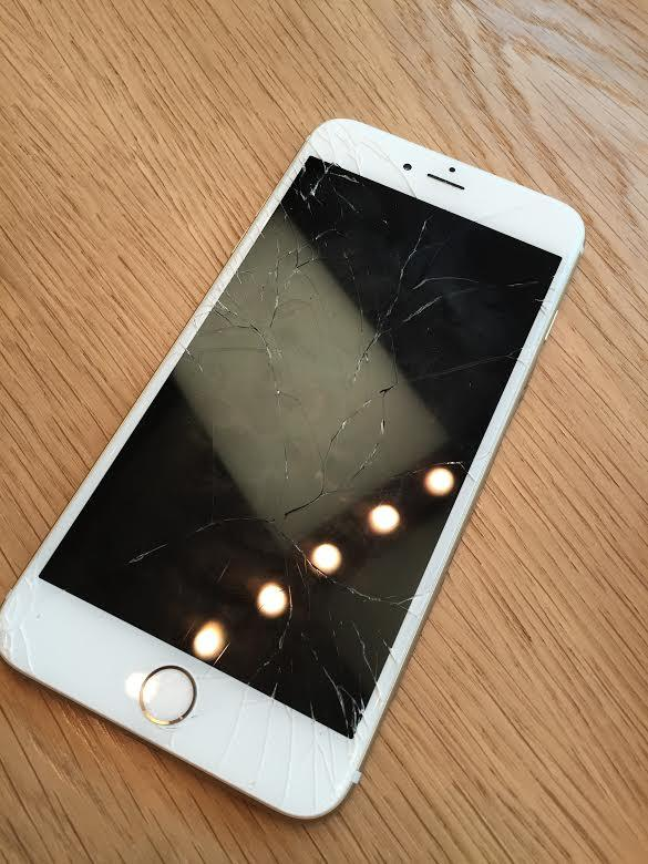 IPhone 6 Plus Broken Screen