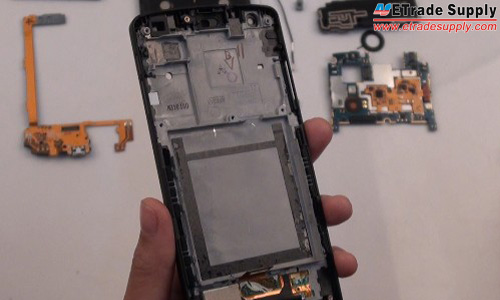 Nexus 5 screen assembly with frame