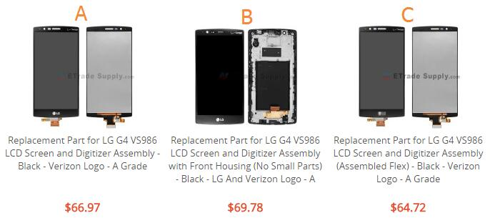Cost of Repairing a Damaged Screen on the LG G4