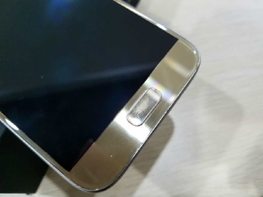 What You Can Do To A Scratched Home Button Of S7 S7 Edge