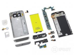 20 LG G5 teardown