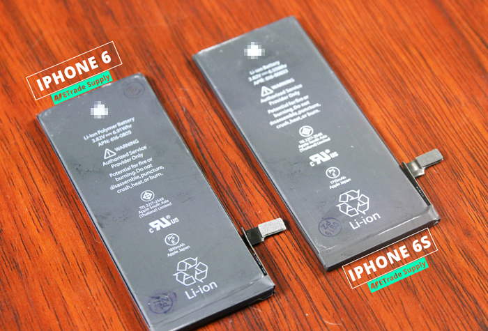 1.iPhone 6 vs iPhone 6 battery connector1