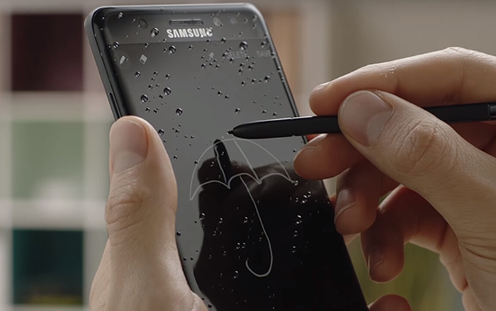 11.note 7 s pen waterproof