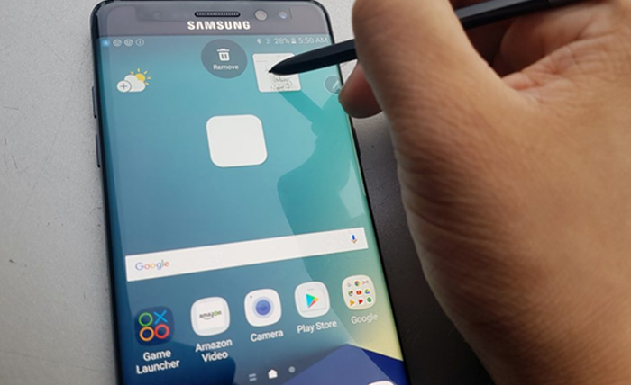 5.note 7 s pen glance