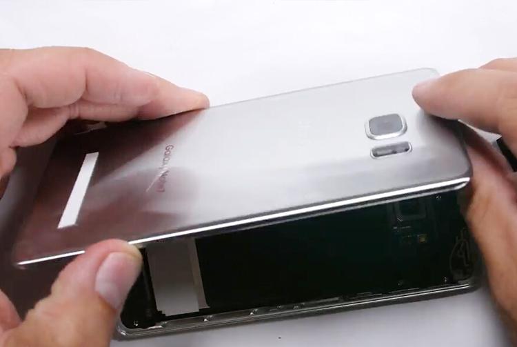 7.remove back glass cover