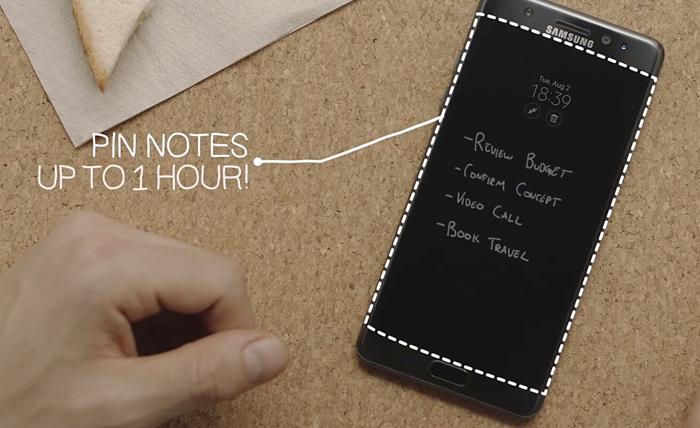 7.screen off memo pin