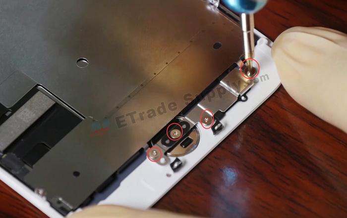20.remove home button screws