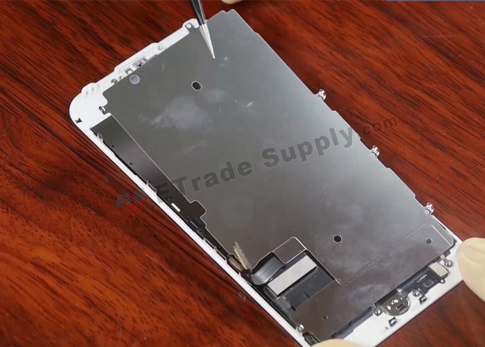 23.remove metal screen shield