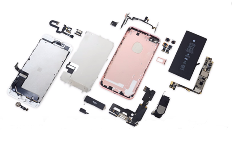 34.iphone 7 plus teardown