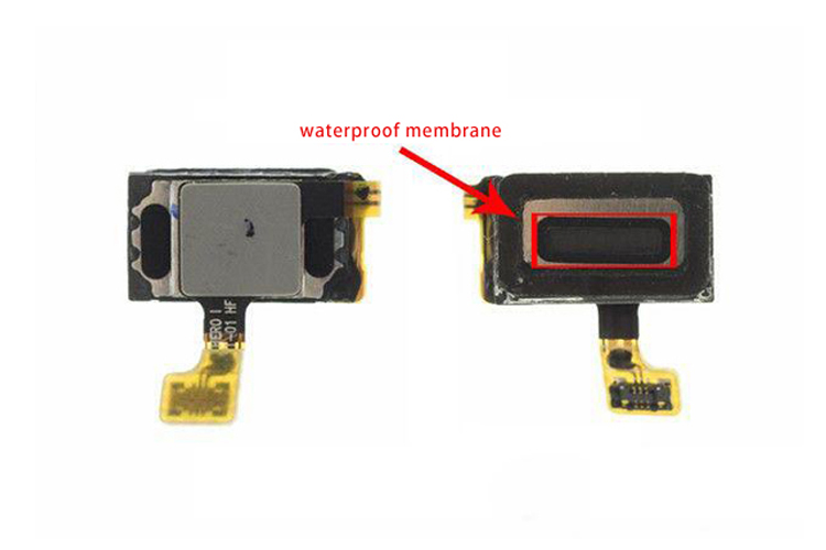 ear speaker waterproof membrane