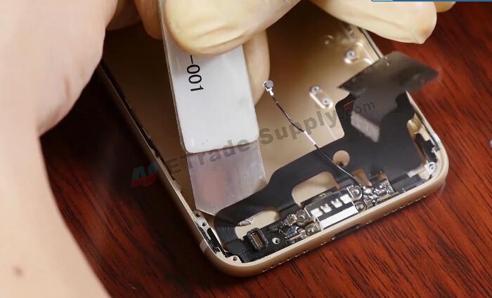 remove charging port flex