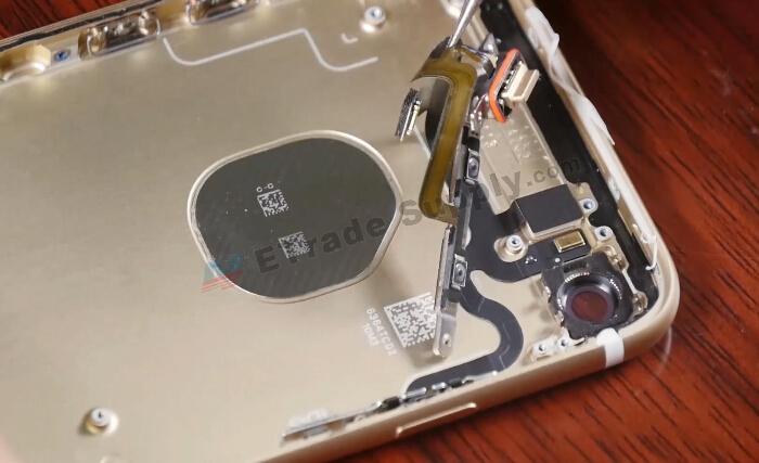 remove side button flex cable