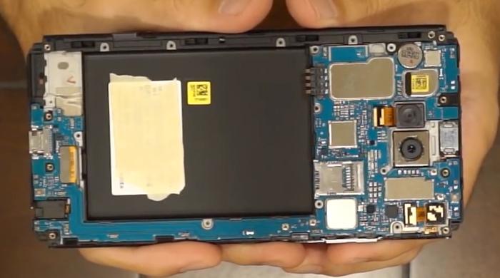 8.motherboard of lg v20