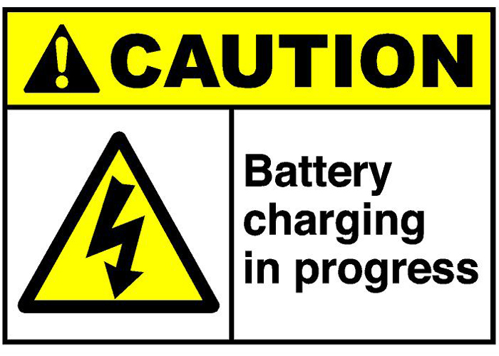 battery charging in progress