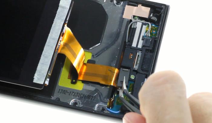 10.release screen connector