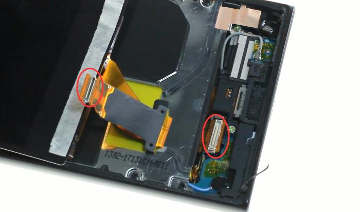 11.release screen connector