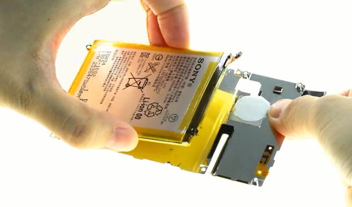 22.remove battery