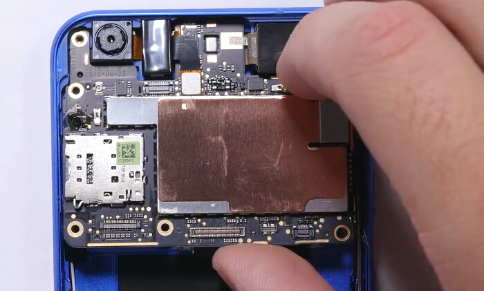 24.remove motherboard