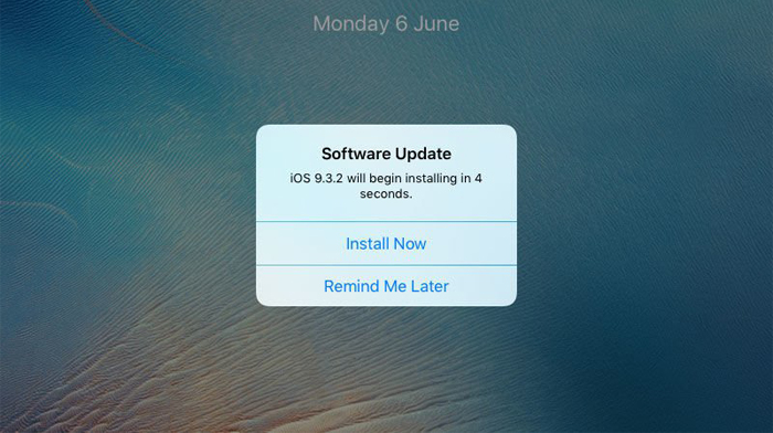 How to fix iPhone System Update Reminder