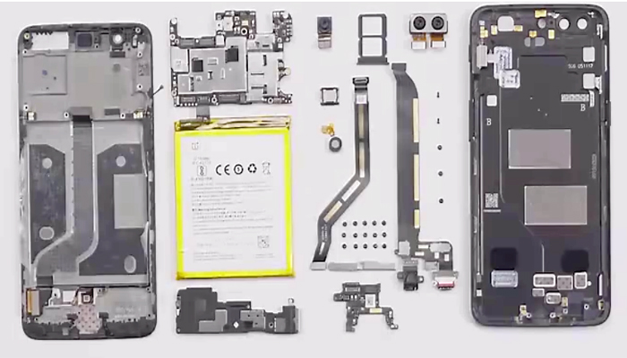 OnePlus 5 teardown I8
