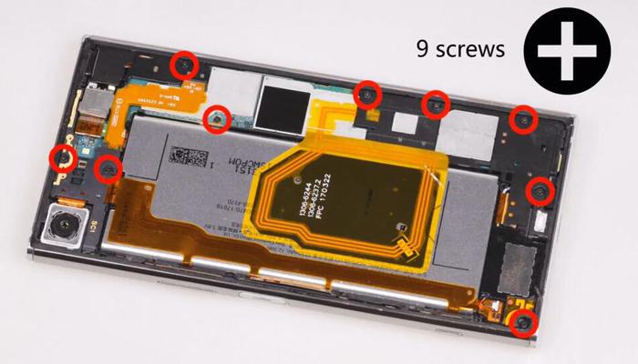 Sony Xperia XZ Premium TeardownDisassembly005
