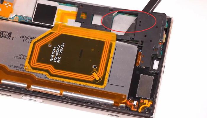 Sony Xperia XZ Premium TeardownDisassembly007