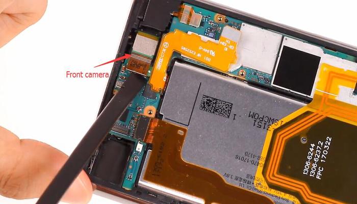 Sony Xperia XZ Premium TeardownDisassembly009