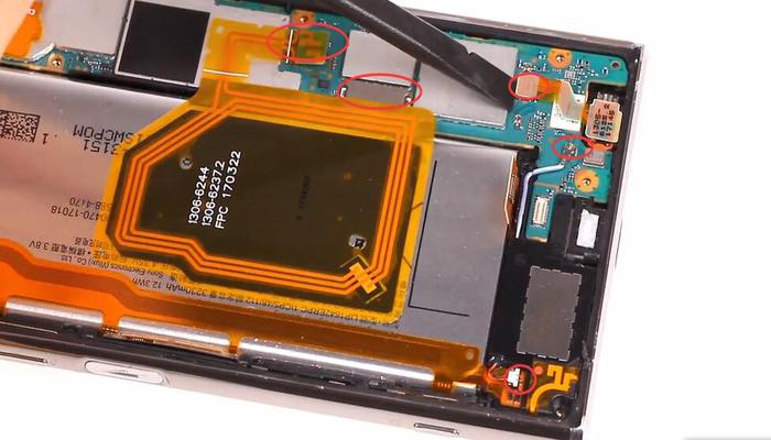 Sony Xperia XZ Premium TeardownDisassembly011