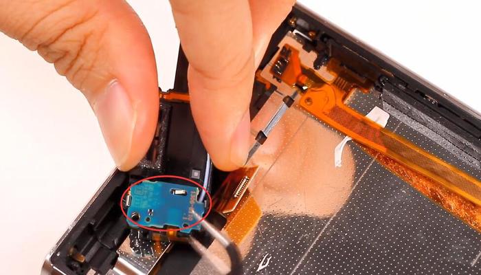 Sony Xperia XZ Premium TeardownDisassembly019