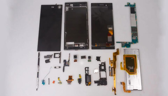 Sony Xperia XZ Premium TeardownDisassembly028