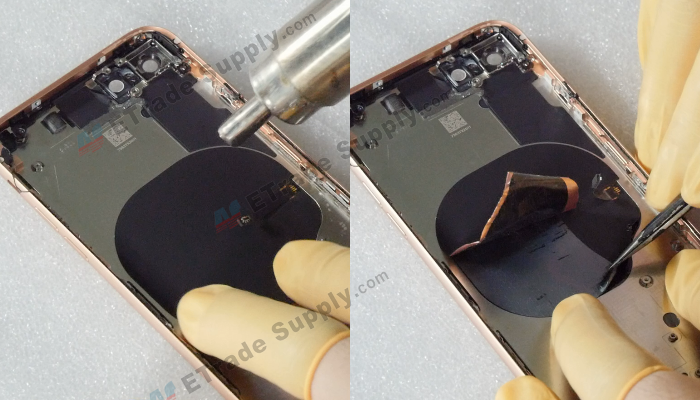 32 Remove the wireless charging coil
